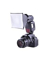 Universal Mini Studio Soft Box Flash Diffuser XTSBFD for Canon Nikon SB-800/900 Sony Olympus External Flash Units