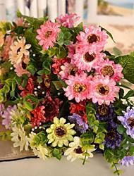 """Недорогие -12,9 """"L набор 1 природных диких маргаритки шелковой ткани цветы"""