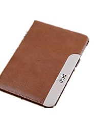 cheap -iPad mini 3/iPad mini/iPad mini 2 compatible Solid Color/Special Design Genuine Leather Smart Covers