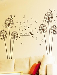 baratos -decalques de parede adesivos de parede, estilo que o meu amor equitação leão voar parede pvc adesivos