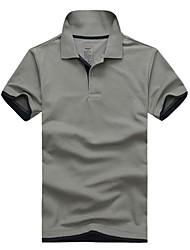 lesmart d'été en coton à manches courtes marque hommes de polo la chemise pour hommes