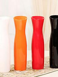 """economico -11.8 """"h stile moderno vaso di ceramica bianca vaso cilindrico"""