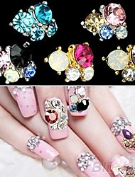 cheap -5 Nail Jewelry Glitter & Poudre Classic Lovely Wedding Daily Classic Lovely Wedding High Quality