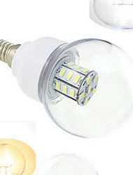 cheap -1pcs E14 7W SMD 5730 648LM Warm White/Cool White Globe Bulbs DC12/24V