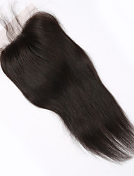 Недорогие -Коричневый - жен. - Наращивание волос Прямой - Человеческий волос