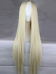 cheap -Synthetic Wig Blonde Women's Carnival Wig Halloween Wig Long Synthetic Hair