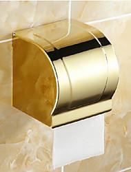 Недорогие -Держатель для туалетной бумаги Карбонитрид титана Крепление на стену 120*130mm(4.72*5.11inch) Медь Неоклассицизм