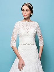 cheap -Lace Wedding Party/Evening Wedding  Wraps Capelets Elegant Style