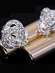 cheap -Women's Stud Earrings Fashion Rhinestone Alloy Jewelry Daily Costume Jewelry