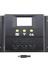 y-solaire 80a 80i régulateur de charge solaire panneau LCD chargeur de batterie 12v 24v auto