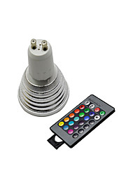 cheap -3W GU10 LED Spotlight 3 / lm RGB 2800-3500/6000-6500 K Remote-Controlled AC 220-240 V