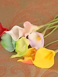 ブランチ シルク プラスチック カラーリリー テーブルトップフラワー 人工花