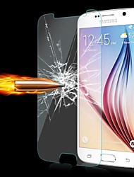abordables -Cwxuan Protector de pantalla para Samsung Galaxy S6 Vidrio Templado Protector de Pantalla Frontal Anti-Huellas