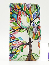 cheap -The Tree of Life Pattern PU Leather Case Cover with A Touch Pen ,Stand and Card Holder for Nokia Lumia 630