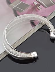 Narukvice Široke narukvice Legura / Titanium Steel Vjenčanje / Party Jewelry Poklon Srebrna,1pc