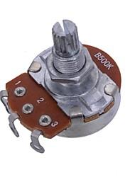 Недорогие -полный размер b500k короткие раскол вал 15 мм Объем звук гитары горшки потенциометра для электрогитары 20шт / много