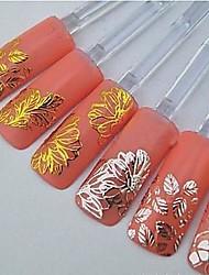 Недорогие -Мультипликация/Цветы/Свадьба - 3D наклейки на ногти/Стразы для ногтей - Пальцы рук/Пальцы ног/Прочее - 6*4*0.5 - 6PCS - Прочее