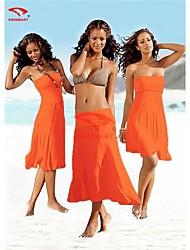 cheap -Women Nylon Halter/Bandeau Multi-way Swimming Accessories/Cover-Ups VB004