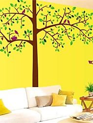 Wall Stickers Wall Decals, Style Large Trees PVC Wall Stickers