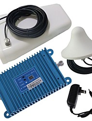 Intelligence LCD Display Dual Band GSM/DCS 900/1800MHz Mobile Phone Signal Booster Amplifier + Antenna Kit