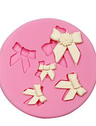 abordables -décoration de gâteau fondant arc silicone moule pour l'artisanat de bijoux bonbons chocolat argile de résine de PMC