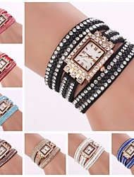 cheap -Women's Casual Watch / Bracelet Watch Hot Sale Leather Band Charm