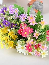 Ast Seide Kunststoff Gänseblümchen Tisch-Blumen Künstliche Blumen