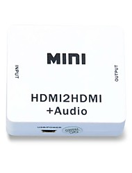 1080p HDMI Audio linko jakaja hdmi 1.4 digitaalisesta analogiseksi 3.5mm pois audioadapterin