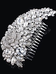 Vintage Design Wedding Bride Crystal Combs Hair Accessior