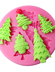 Cake Decor Moulds Christmas Tree Silicone Mold