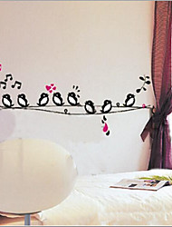 cheap -Environmental Removable Little Birds PVC Wall Sticker