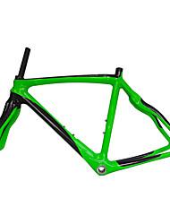 Недорогие -Рама для  дорожного велосипеда Углепластик Велоспорт Рамка 700C Полированный Заезд на 3 км см дюймовый