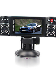 cheap -F600Car Dvr 2.7 Inch 120 Degree View Angle 4X Digital Zoom Dual Lens