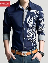 povoljno -Veći konfekcijski brojevi Majica Muškarci Print