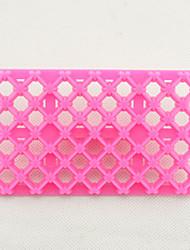Недорогие -связать лепесток одеяло помадной массы квадратного резака решетки торт кекс тиснение инструмента для тиснения