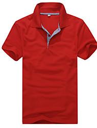 Недорогие -Пирс корейский все просто соответствием проверить короткий рукав рубашки поло футболки