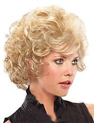 economico -Donna Parrucche sintetiche Pantaloncini Biondo parrucca nera costumi parrucche