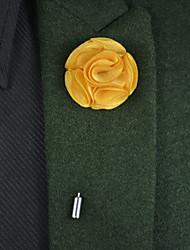 economico -Bouquet sposa Bouquet Fiore all'occhiello Altro Matrimonio Party /serata Materiale Metallo Raso 8 cm ca. 0-20cm