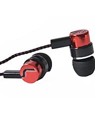 casque 3.5mm musique écouteurs intra-auriculaires de basse clair avec micro pour Samsung S5 S6 s4