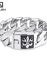 Kalen 2015 Men's Jewelry 316L Stainless Steel Fashion Men's Bracelet