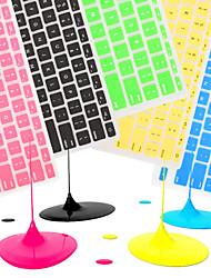 """economico -coosbo® francese eu AZERTY silicone pelle della copertura della tastiera per l'aria di MacBook Pro / retina 11 """"/ 13"""" / 15 """"/ 17"""""""