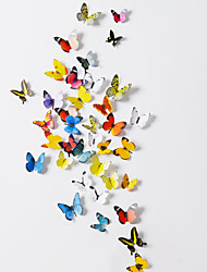 cheap -3D  Butterfly PVC Wall Stickers Wall Art Decals(38 Pcs A Set)