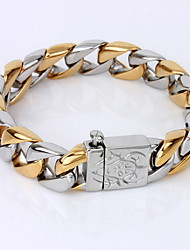 cheap -Men's Chain Bracelet Bracelet Unique Design Vintage Party Work Casual Simple Style Link/Chain Fashion Gold Plated Others Others Jewelry