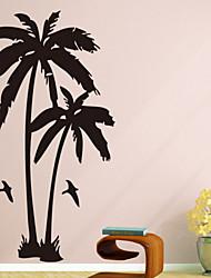 baratos -Animais Botânico Adesivos de Parede Autocolantes de Aviões para Parede PVC Decoração para casa Decalque Parede