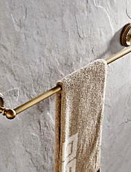 abordables -Barre porte-serviette Antique Laiton 1 pièce - Bain d'hôtel Barre à 1 serviette