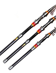 cheap -Fishing Rod Telespin Rod Telespin Rod Carbon 180/205/230/270/290/320/360 cm Sea Fishing Freshwater Fishing Other 6/7/8/9/10/11/11 sections
