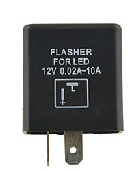 cheap -Auto Control Motorcycle Accessories Motorcycle Flasher Relay LED Flasher 2P
