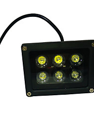 cheap -LED Floodlight Rotatable 6 High Power LED 660 lm UV (Blacklight) K AC 85-265 V