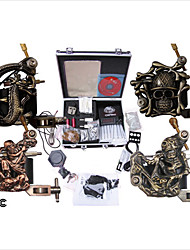 Professional Tattoo Machine Kit Completed Set With 4 Tattoo  Machines