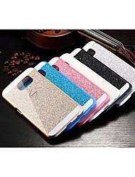 cheap -Case For Samsung Galaxy Samsung Galaxy Case Pattern Back Cover Glitter Shine PC for S6 edge plus